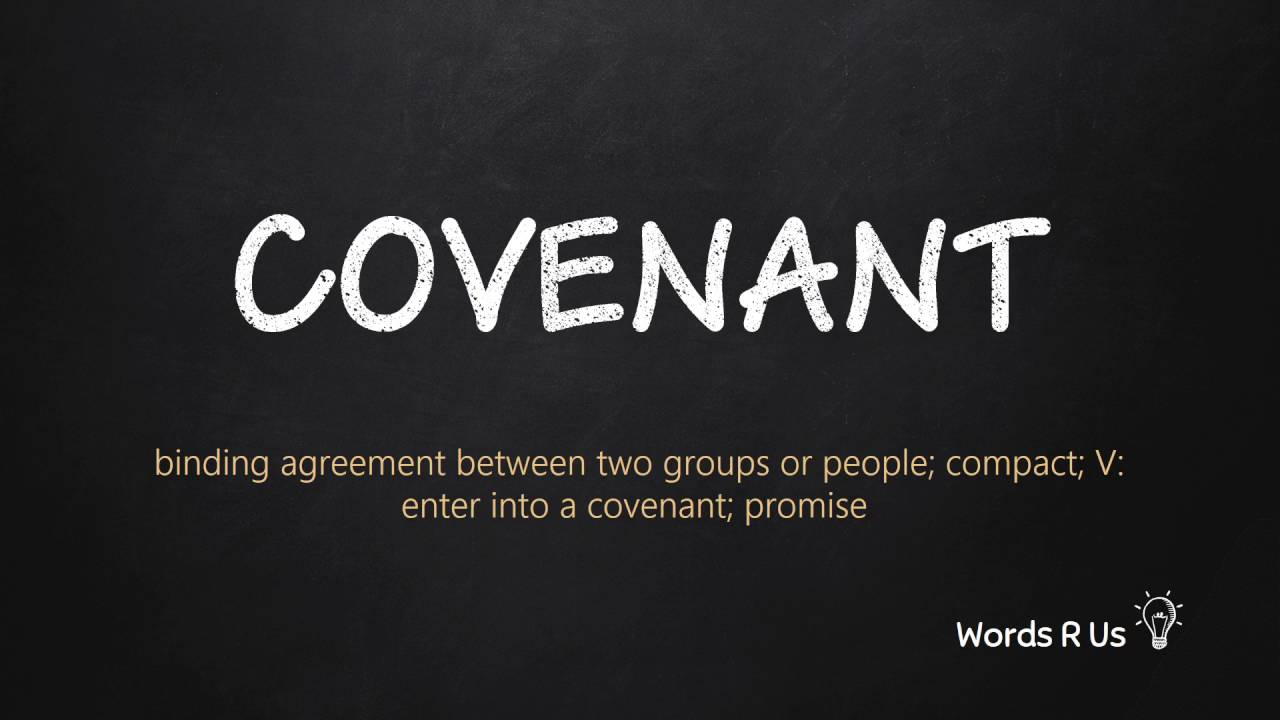 How to Pronounce COVENANT in American English