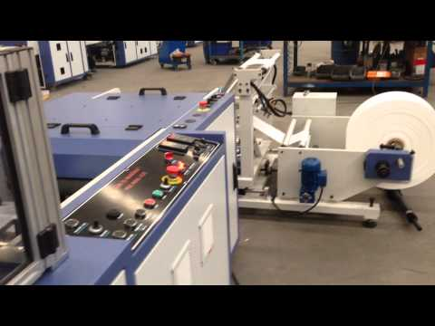 PSC-ROLL 420 Perforated Bag on Roll with Automatic Paper Core Changing System