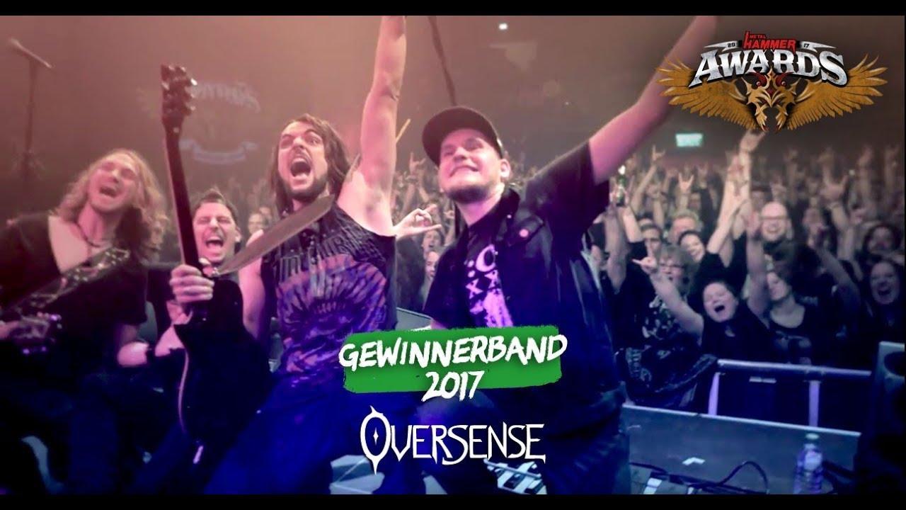 Oversense Mit Gelorevoice Bei Den Metal Hammer Awards 2017 Youtube