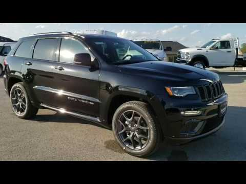 Brand New 2020 Jeep Grand Cherokee Limited X Walk Around Review Diamond Black 1st 2020 At Summit