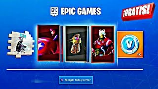 *DO THIS* TO *GET FREE AVENGERS GIFT* NOW IN FORTNITE!!