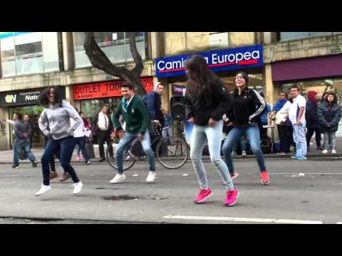 Flash Mob IYF - World Culture Camp Colombia 2016