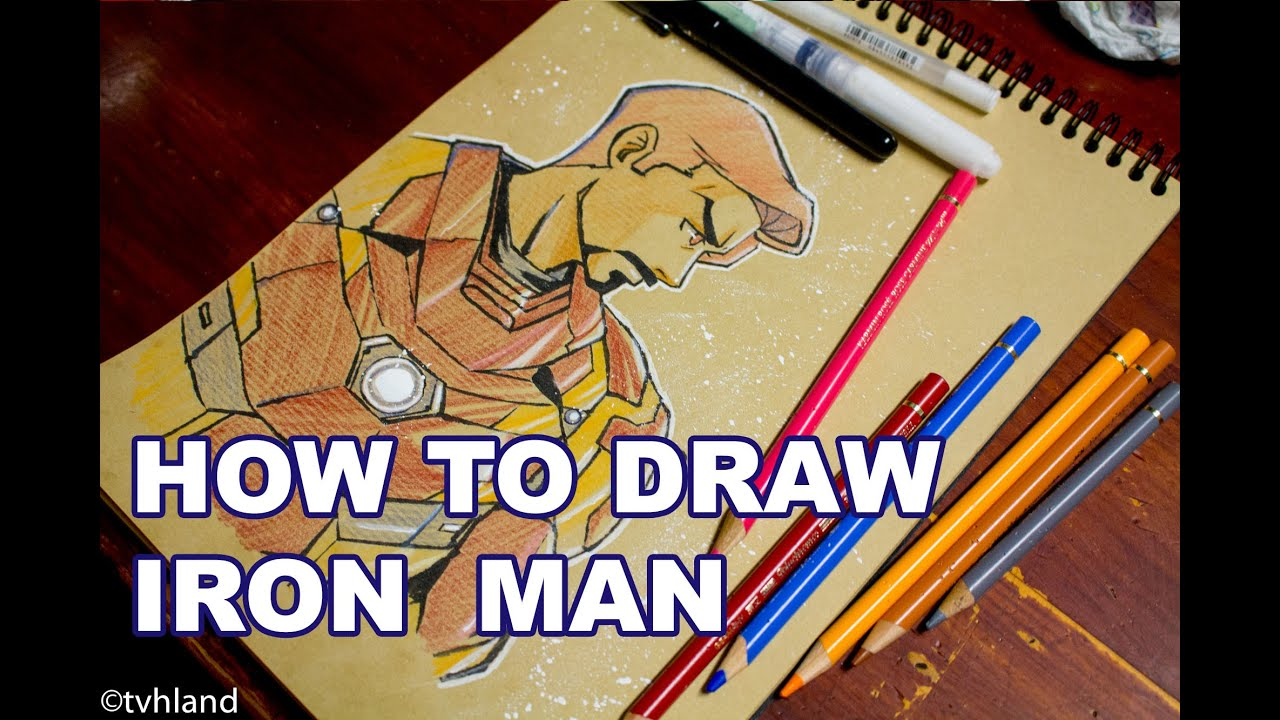 Comment Dessiner D'Iron Man Captain America Civil War?
