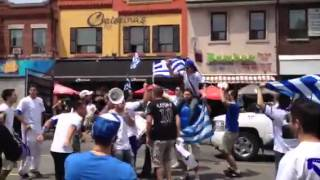 Danforth after the Greece-Poland Draw