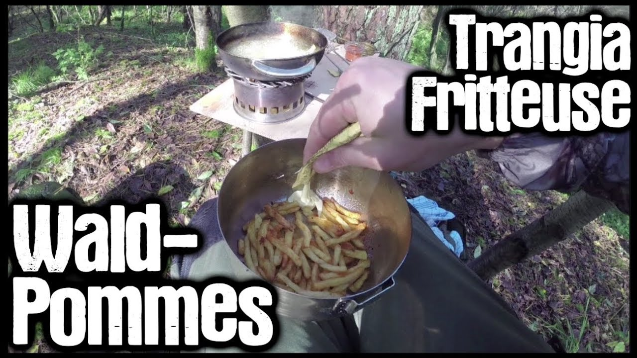 Outdoor Küche Mit Friteuse Wald Pommes Trangia Fritteuse Outdoor Cooking Draussen
