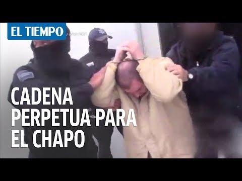 Cadena perpetua para el Chapo Guzmán   EL TIEMPO