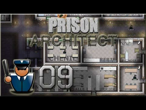LP Prison Architect : Ep 09 - Morgue & salle des courriers