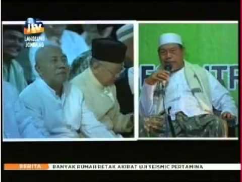 Tausiyah Prof. Dr. KH. Tolhah Hasan pada 1000 hari Gus Dur di Tebuireng - JTV