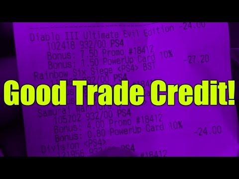 Bro Do You Even Trade Right? - Gamestop gave me good trade credit!