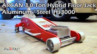 Arcan Ton Hybrid Steel Aluminum Floor Jack