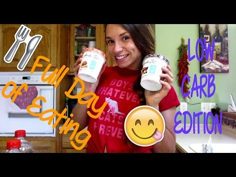 FULL DAY OF EATING - LOW CARB EDITION!