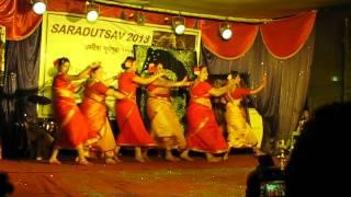 Jhumur at cultural function Assam Bhavan, Vashi, Mumbai 2013