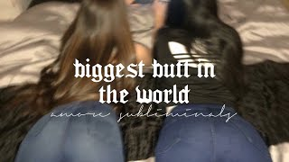 -ˋˏamore ┊biggest butt in the world