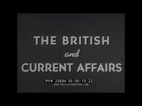 BRITISH ARMY BUREAU OF CURRENT AFFAIRS   TROOP MORALE & EDUCATION FILM 23694