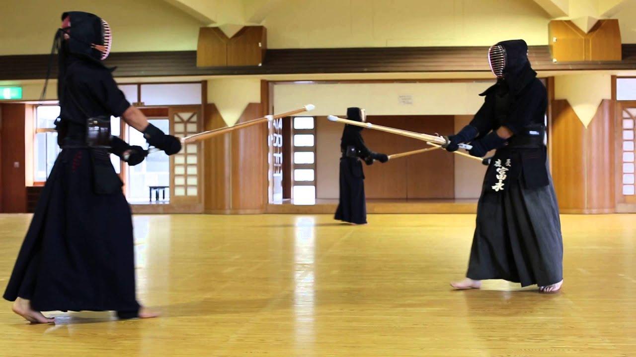 Okinawa budokan honbu dojo kendo youtube for Kendo dojo locator