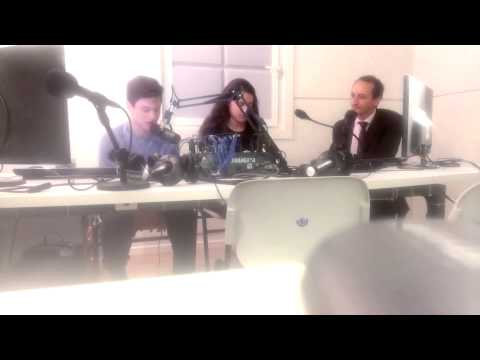 Radio Interview with Australian Ambassador to Israel, Dave Sharma, and Bialik Students