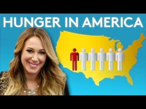 Haylie Duff Talks Hunger in America  TakePart Live