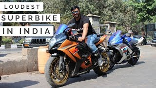 Superbike With RACEFIT exhaust - Loudest in INDIA