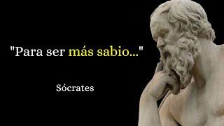 43 Bonitas Frases de Sócrates para Pensar (Narradas) 🧔🏻