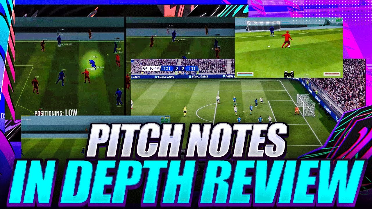 FIFA 21 PITCH NOTES IN-DEPTH REVIEW! FIFA 21 NEW FEATURES DISCUSSION | CREATIVE RUNS AGILE DRIBBLING
