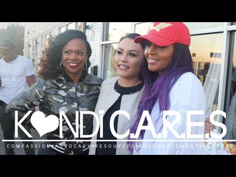 Kandi and Rasheeda Give Back to The Community!