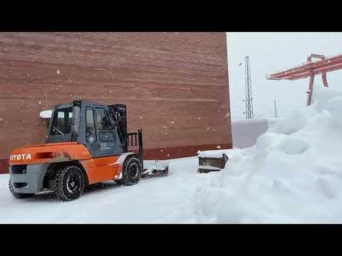 Снежная зима 2021