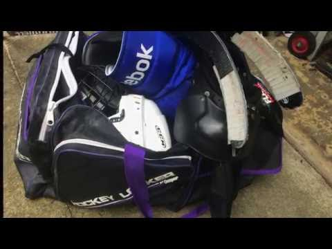 Hockey Gear Rack: HomieMade
