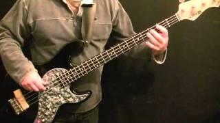 How To Play Bass Guitar To Hold On I