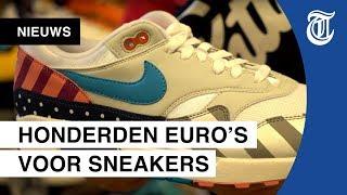 Exclusieve sneakers: 'Iedereen kijkt naar m'n schoenen'