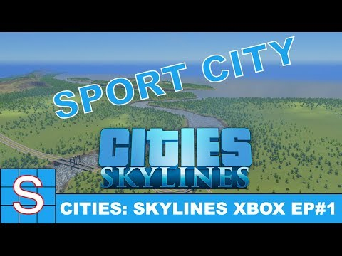 Cities Skylines Console | Sport City! | Match Day/Content Creator DLC #1