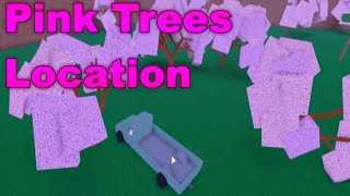 [ROBLOX: Lumber Tycoon 2] - Pink Trees Location
