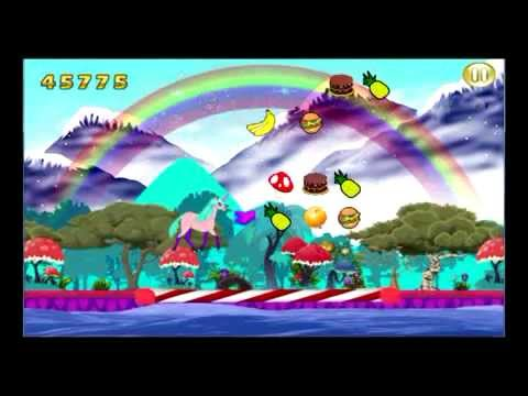 My Little Unicorn Robot Dash The Best Unicorn Game EVER And It's FREE!!