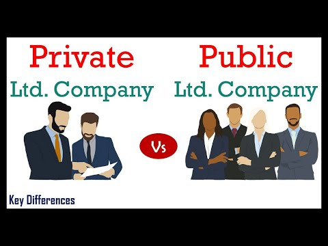 Private vs Public limited company: Difference between them w