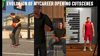 Evolution of NBA 2K MyCareer Opening Cutscenes (NBA 2K14 - NBA 2K19)