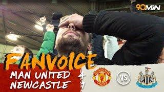 Man Utd 4-1 Newcastle | Martial, Smalling, Pogba & Lukaku goals give Man U win! | 90min FanVoice