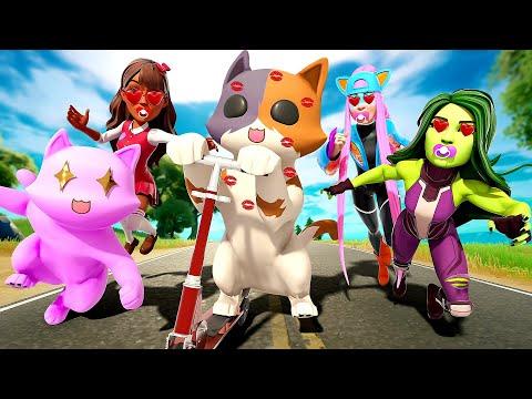ALL THE CUTE GIRLS LOVE KIT... ( Fortnite Short )