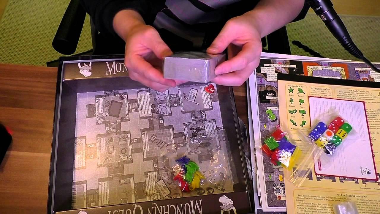 Munchkin Quest - Unboxing | Soooo viele Teile! - YouTube