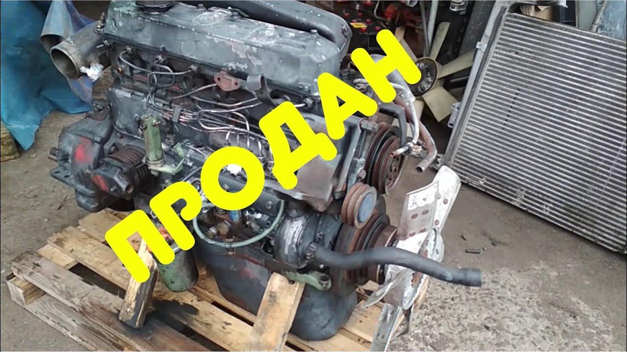 ПРОДАН⚠️ 2600$  двигатель  OM366 140 л.с Mercedes 814 Разборка Европейских грузовиков