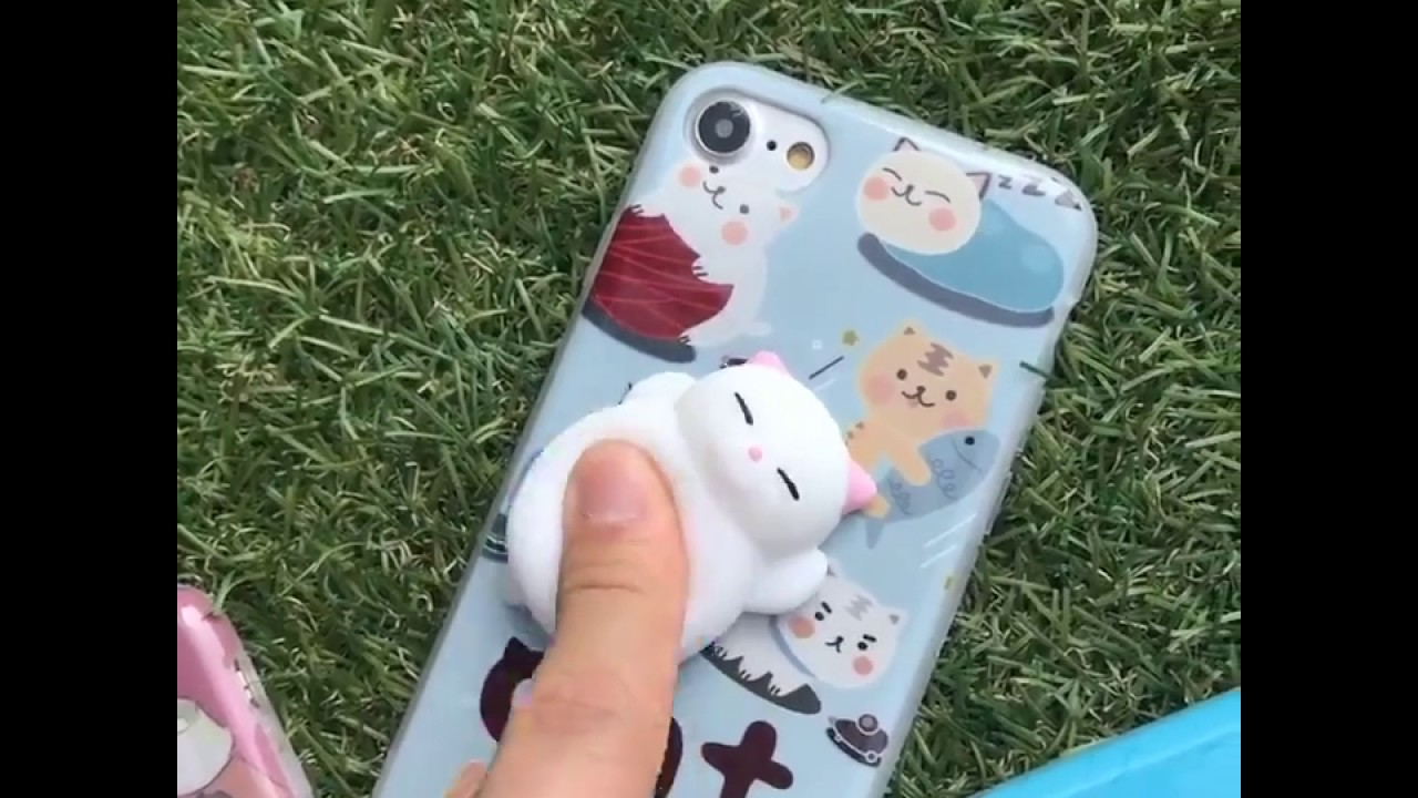 Squishy Animals For Phone Case : Squishy Animal iPhone Case - YouTube