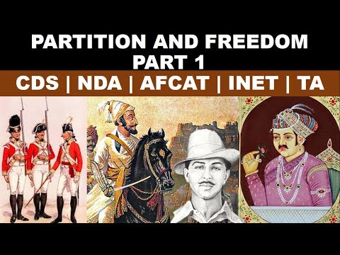 Partition and Freedom Part 1| CDS | INET | NDA | AFCAT | SSB | Modern History by Varshney
