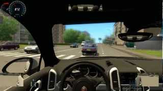City car driving Porsche Cayenne Turbo S 2012 Fast Driven [G27] Gameplay
