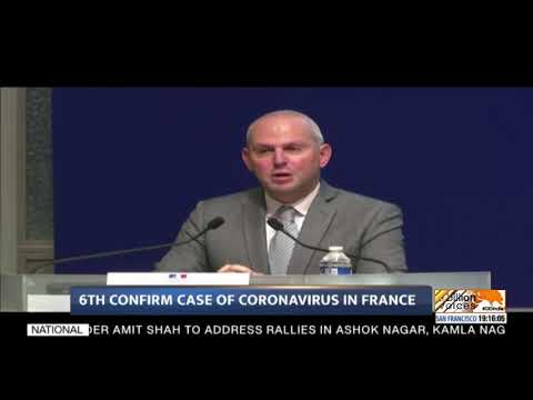 6th confirm case of coronavirus in France