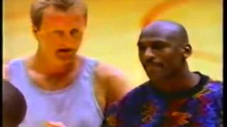 [YTP]  Larry Bird and Micheal Jordan Compete for a Big Meal