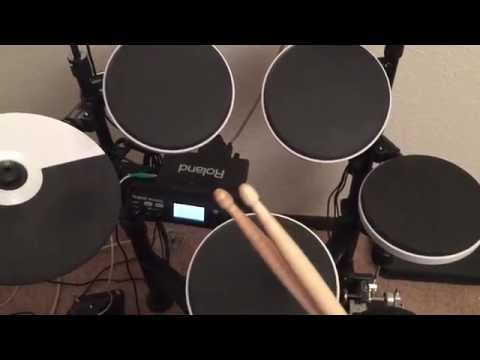 Hardware Review - Roland TD-4KP V-Drums Electronic Drum Kit