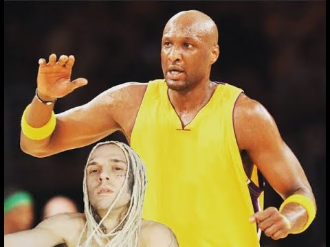 Lamar Odom knocks out Aaron Carter in a celebrity boxing match