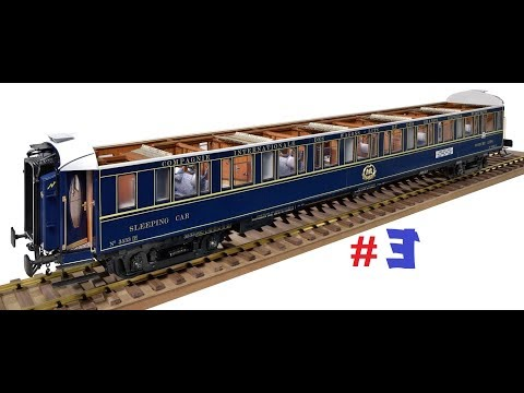 Official Build Diary Amati Orient Express #3 deutsch