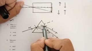 test paper 1 & 2  (Light) solutions Physics Grade 8