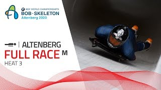 Altenberg | BMW IBSF World Championships 2020 - Men's Skeleton Heat 3 | IBSF Official