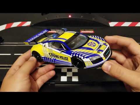 """Carrera Digital 124 23880 Audi R8 LMS /""""Carrera Racing Police/"""""""