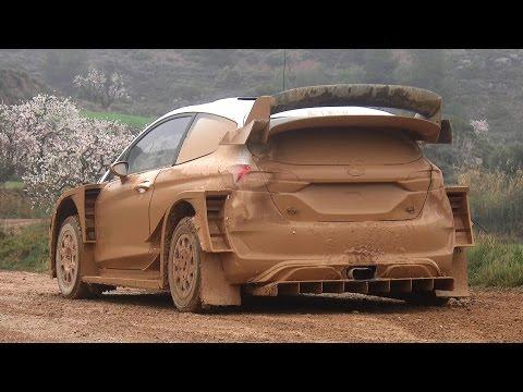 Test Lorenzo Bertelli | Ford Fiesta WRC 2017 | pre Rally Mexico by Jaume Soler